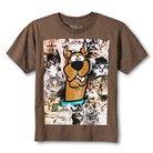 Scooby Doo Boys' T-Shirt - Brown L