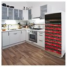 Coca-Cola Fridge Wall Decal - Multi-Colored