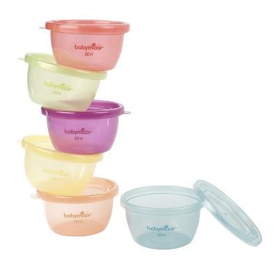 Babymoov Baby 6-Piece Bowl Set Multicolored