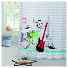 Big Believers Rock Star Shower Curtain Set