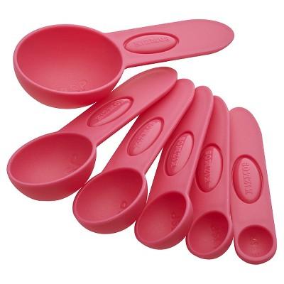 Kizmos Measuring Spoons - Pink