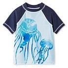 Baby Boys' Jellyfish Rash Guard Blue 9M - Circo™