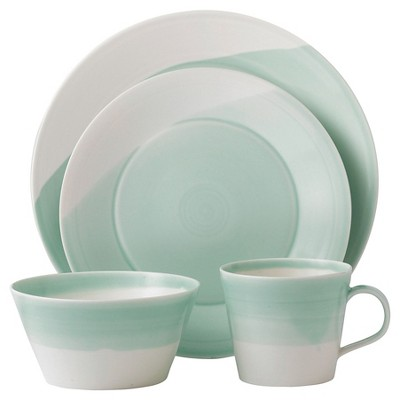 Royal Doulton 1815 Green 4-Piece Place Setting
