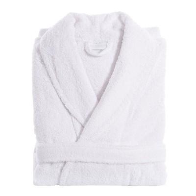 Unisex Terry Cloth Bathrobe Linum Home - White (XXLarge)