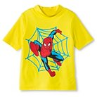 Toddler Boys' Spiderman Rashguard - 4T