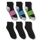 Women's Hanes Premium 6-Pack X-Tech Tanks Socks /Blue5-9 - C9 Champion®