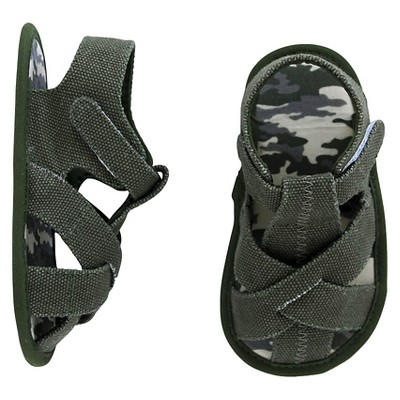 Baby Boys' Fisherman Sandal -  Green 1