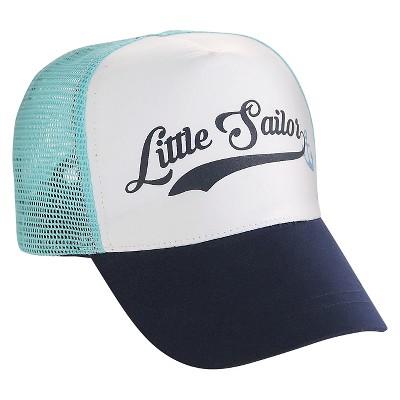 Baby Boys' Anchors Baseball Hat Blue/White 6-12M - Circo™