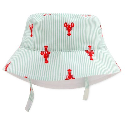 Baby Boys' Lobster Baseball Hat Blue/Red 6-12M - Circo™