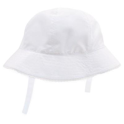 Baby Girls' Bucket Hat White 12-18M - Circo™
