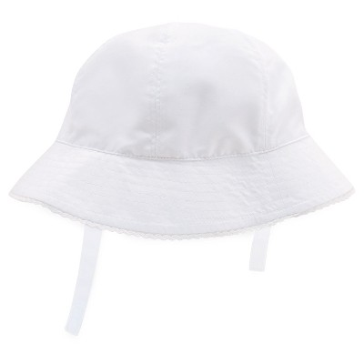 Baby Girls' Bucket Hat White 6-12M - Circo™
