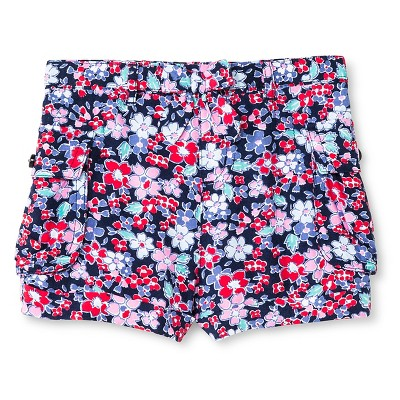 Baby Girls' Floral Cargo Short 12M - Genuine Kids