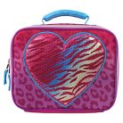 Accessory Innovations Insulated Lunch Bag - Pink Sequins