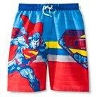 Boys' Superman Swim Trunk - Multicolored XS