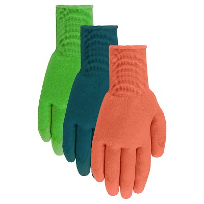 Ladies Softec With Polyurethane Dipped Glove 4-Pack - Medium