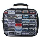 Accessory Innovations Nailhead Mix Tapes Insulated Lunch Bag - Black