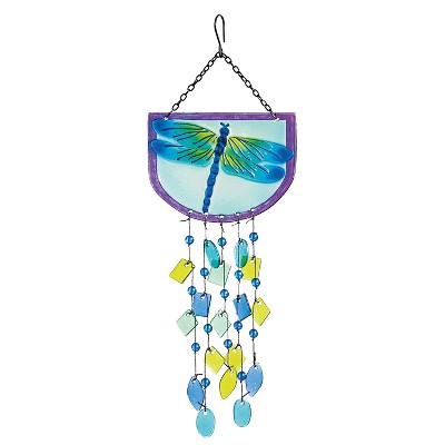 Dragonfly Suncatcher Multi-Colored - Evergreen