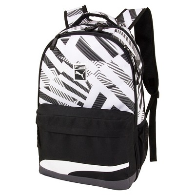 "Puma 17"" Archeprint Backpack - Black"