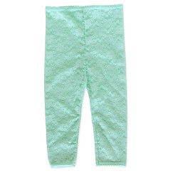 Girls' Lace Footless Tights Blue - Cherokee