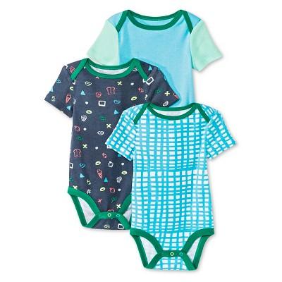 Oh Joy!® Newborn 3 Pack Bodysuit Set - Favorite Things 0-3M