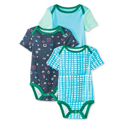 Oh Joy!® Newborn 3 Pack Bodysuit Set - Favorite Things 12M