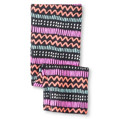 Baby Girls' Tribal Multi-Stripe Capri Legging Gray 12M - Circo™