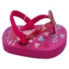 Toddler Girls' Peppa Pig Flip Flop Sandals - Pink S