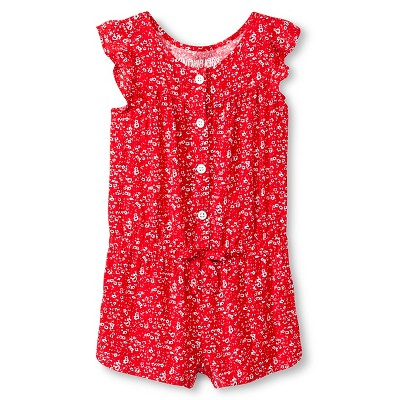 Baby Girls' Floral Challis Jumpsuit Pink 12M - Genuine Kids from Oshkosh™