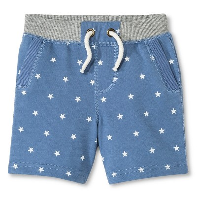 Baby Boys' Lounge Short - Brave Blue 12M - Genuine Kids™ from OshKosh®