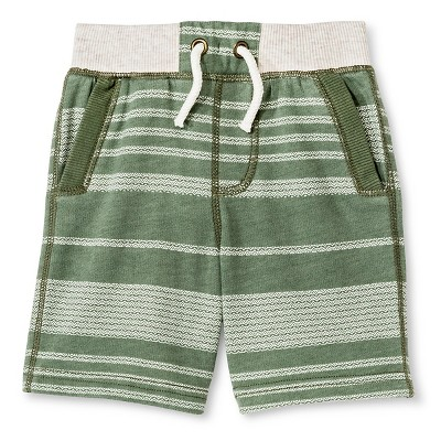 Baby Boys' Lounge Short - Itasca Green 12M - Genuine Kids™ from OshKosh®