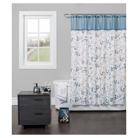 Passell Fabric Shower Curtain Target