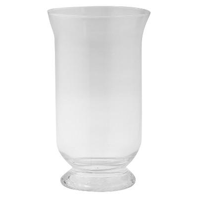 Glass Rounded Candleholder - Diamond Star