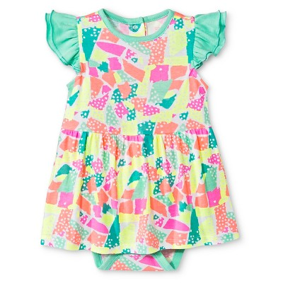 Oh Joy!® Baby Skirted Bodysuit - Green 3-6M