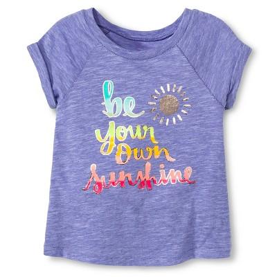 Baby Girls' Sunshine Tee Iris 12M - Cherokee®