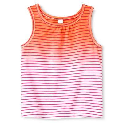 Baby Girls' Stripe Tank Orange 12M - Cherokee®