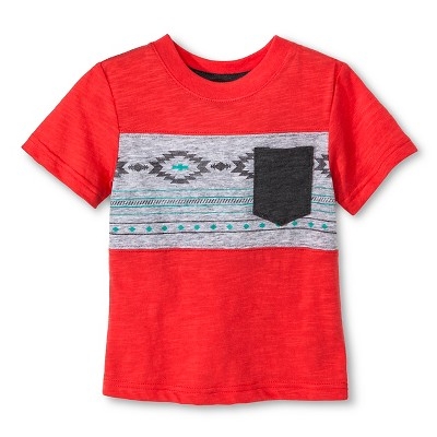 Baby Boys' T-Shirt Red 18M - Cherokee®