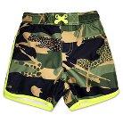 Baby Boys Camouflage Swim Trunk Green 12M - Circo™