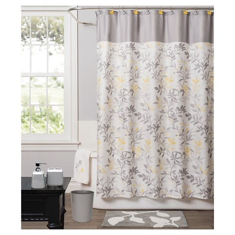 trellis fabric shower curtain product details page