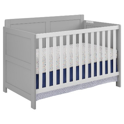 Cosco Willow Lake Crib - Soft Gray/White