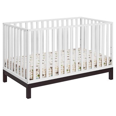 Cosco Standard Full-sized Crib White Brown