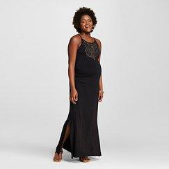 Maternity Embellished Maxi Dress - Liz Lange® for Target