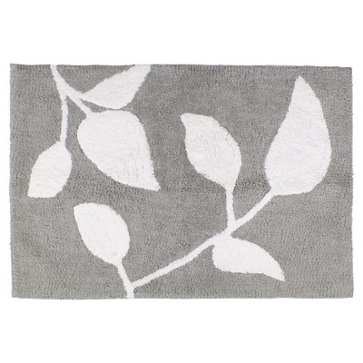Trellis Cotton Bath Rug