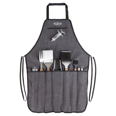 Fire Sense Elite Stainless Steel BBQ Tool Set