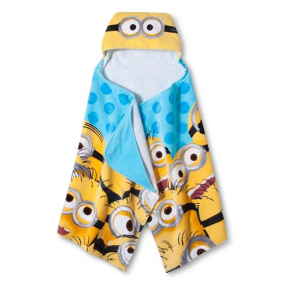"Despicable Me Minions Hooded Towel (24""x50"")"