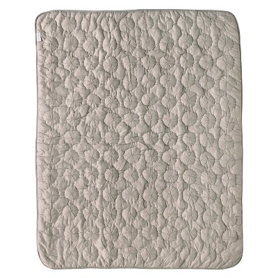 CoCaLo Pinwheel Quilted Comforter - Gray