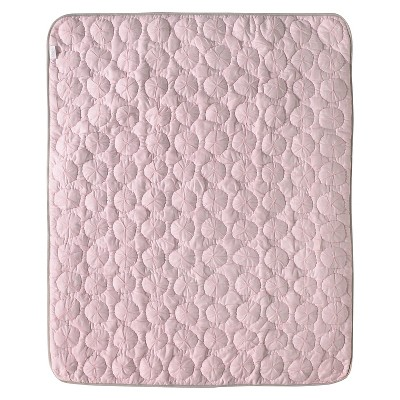 CoCaLo Pinwheel Quilted Comforter - Petal Pink