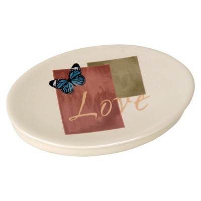 Cherish Stoneware Soap Dish
