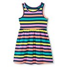 Baby Girls' Multi-Colored Stripe Short Dress Blue 12M - Circo™