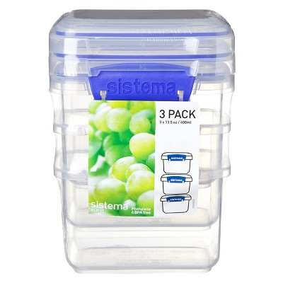 Sistema Klip It 13.5 oz. cups Container