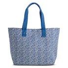Women's Camden Canvas Beach Tote Handbag